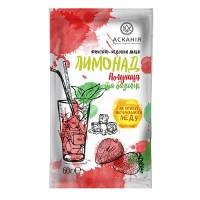 Чай-напиток фруктовый с мёдом «Лимонад Клубника и базилик» ТМ Аскания, ящик 20 пакетов