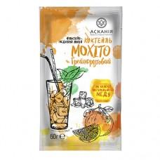 Чай-напиток фруктовый с мёдом «Коктейль Мохито Грейпфрутовый» ТМ Аскания, ящик 20 пакетов