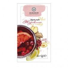 Чай-напиток фруктовый с мёдом «Клюква и имбирь» (Журавлина) ТМ Аскания, ящик 24 пакета