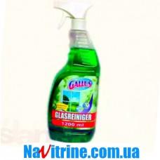 Спрей для мытья стекол GALLUS, 1,2 л зеленый