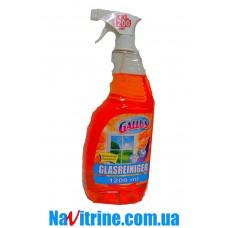 Спрей для мытья стекол GALLUS, 1,2 л оранжевый