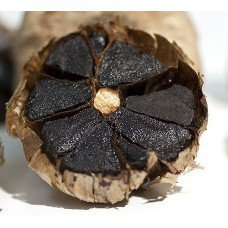 Черный чеснок в шоколаде Black Garlic in chocolate big package (большая коробка)