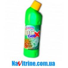 """Средство для мытья унитаза GALLUS """"Альпийская свежесть"""", 1,25 л."""