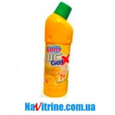 """Средство для мытья унитаза GALLUS """"Свежесть лимона"""", 1,25 л."""