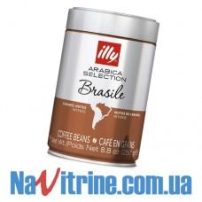 Кофе в зернах illy Espresso 250 г,  MONOARABICA BRAZIL