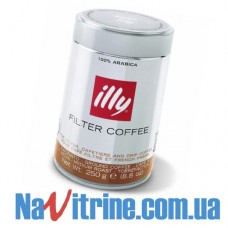 Кофе молотый illy 250 г, Filter Coffee