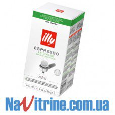 Кофе в монодозах illy Espresso 18 шт, Decaffeinated (без кофеина), 18 шт х 6,95 г.