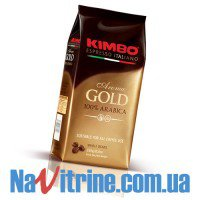Кофе в зернах KIMBO AROMA GOLD 100% ARABICA 250 г