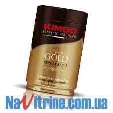 Кофе молотый KIMBO AROMA GOLD 100% ARABICA банка 250 г