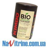 Кофе молотый KIMBO BIO Organic банка 250 г