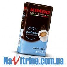 Кофе молотый KIMBO ESPRESSO Decaffeinato 250 г