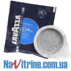 Кофе в чалдах Lavazza Dek 7 г, уп. 18 шт
