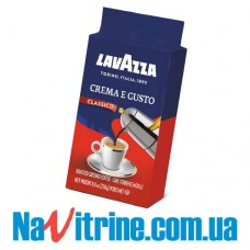 Кофе молотый Lavazza Crema e Gusto, вакуум, 250г