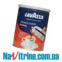 Кофе молотый Lavazza Crema e Gusto, банка, 250г