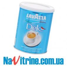 Кофе молотый Lavazza Dek (без кофеина), банка, 250г